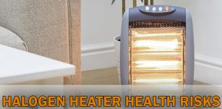 Halogen Heater Health Risks and how to deal with them