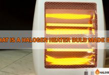 What Is A Halogen Heater Bulb or lamp Made Of